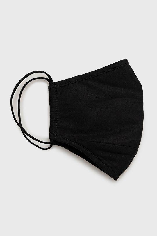 čierna Calvin Klein Jeans - Ochranné rúško na viacnásobné použitie Unisex