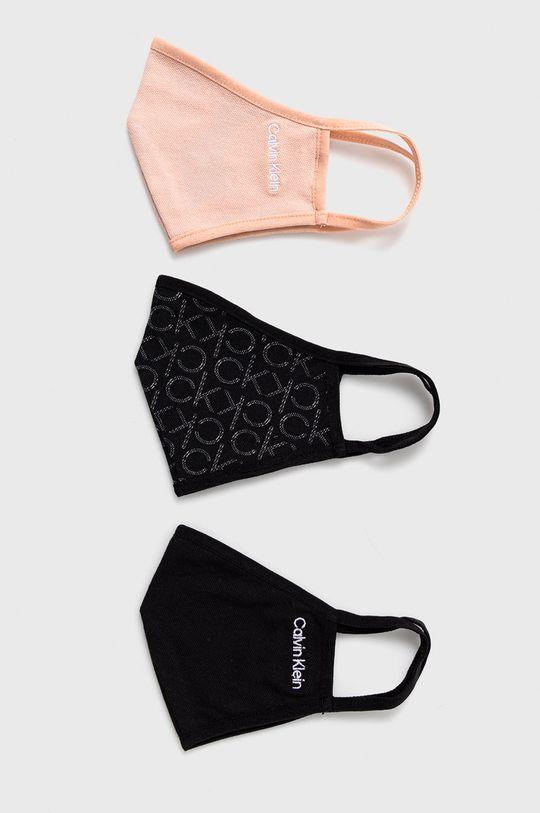 multicolor Calvin Klein Jeans - Maseczka ochronna (3-pack) Unisex
