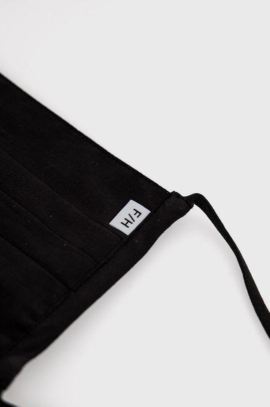 czarny Selected - Maseczka ochronna (2-pack)