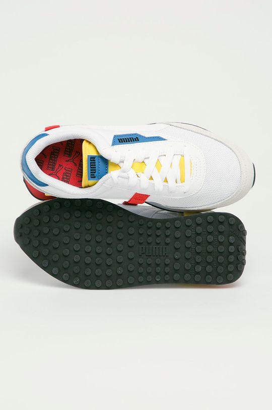 bílá Puma - Dětské boty Futere Rider Neon Play