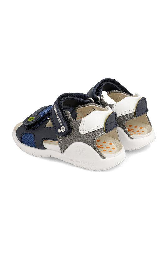 Biomecanics - Dětské sandály  Svršek: Textilní materiál, Přírodní kůže Podrážka: Umělá hmota