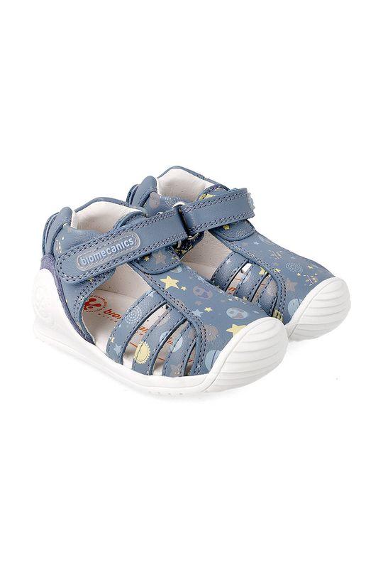 námořnická modř Biomecanics - Dětské sandály Chlapecký