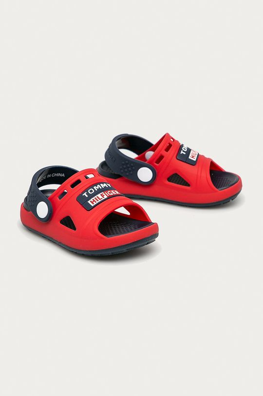 Tommy Hilfiger - Sandale copii rosu