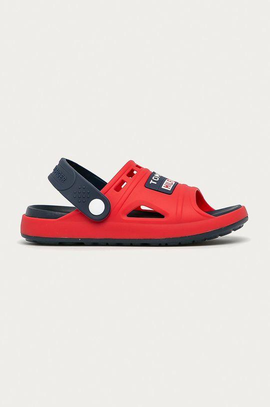 červená Tommy Hilfiger - Dětské sandály Chlapecký