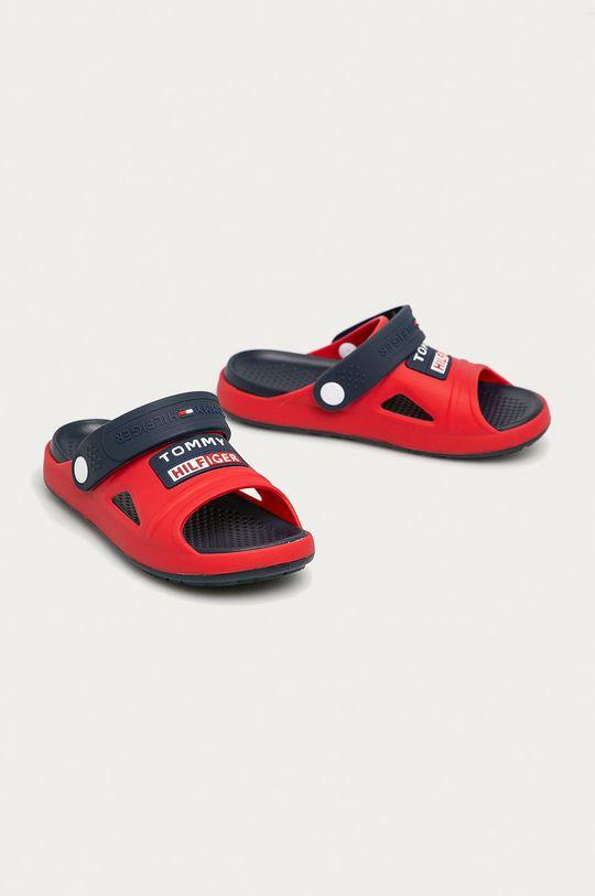 Tommy Hilfiger - Dětské sandály červená