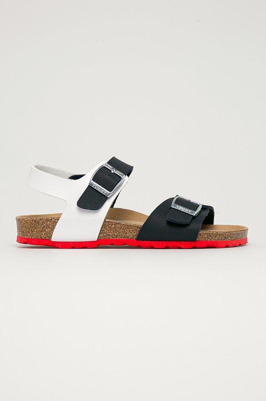 námořnická modř Tommy Hilfiger - Dětské sandály Chlapecký