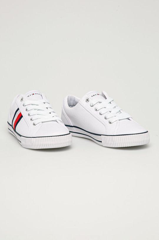 Tommy Hilfiger - Detské tenisky biela