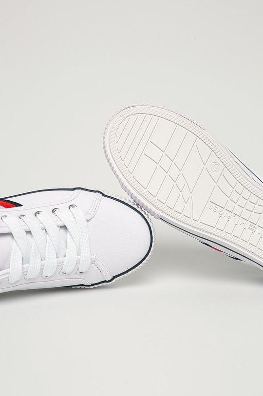 biela Tommy Hilfiger - Detské tenisky
