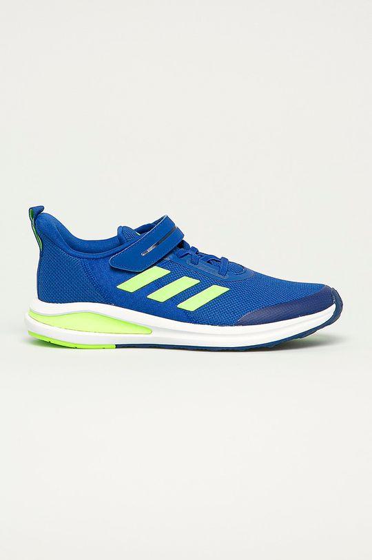 modrá adidas Performance - Detské topánky FortaRun EL Chlapčenský