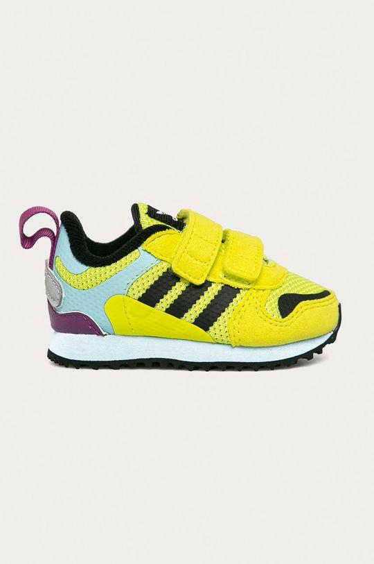 viacfarebná adidas Originals - Detské topánky ZX 700 HD CF I Chlapčenský