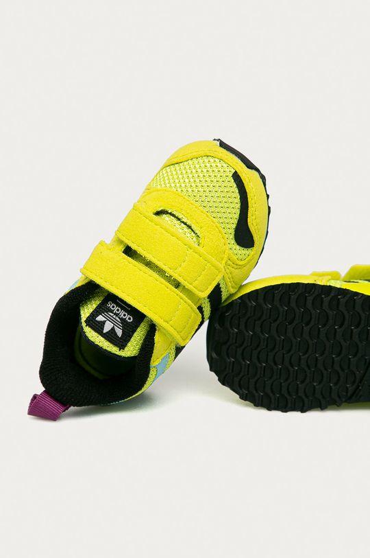 viacfarebná adidas Originals - Detské topánky ZX 700 HD CF I