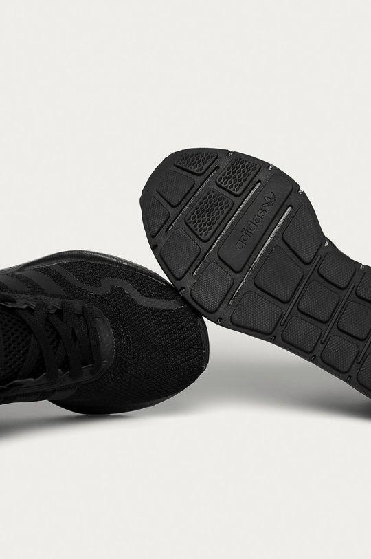čierna adidas Originals - Detské topánky Swift Run X J
