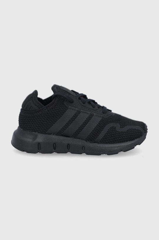 czarny adidas Originals - Buty dziecięce Swift Run X Chłopięcy