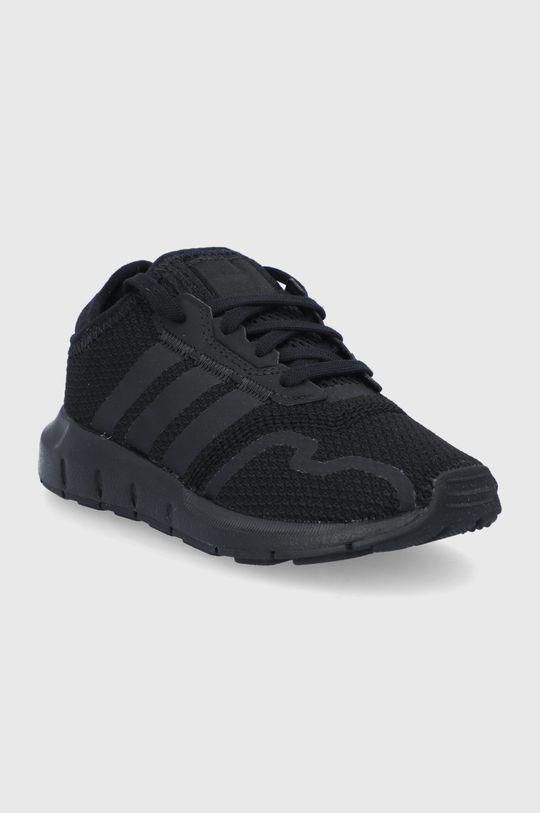 adidas Originals - Buty dziecięce Swift Run X czarny