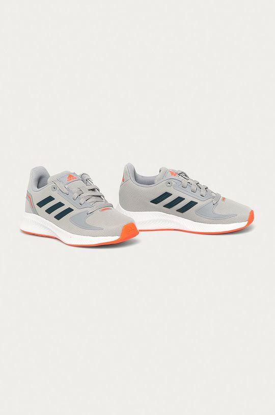 adidas - Детские ботинки RunFalcon 2.0 серый