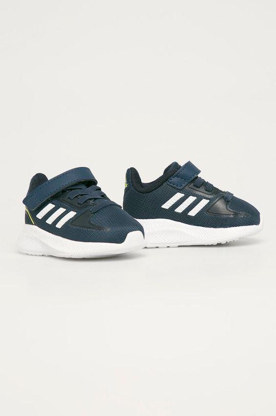 adidas - Dětské boty RunFalcon 2.0 I námořnická modř