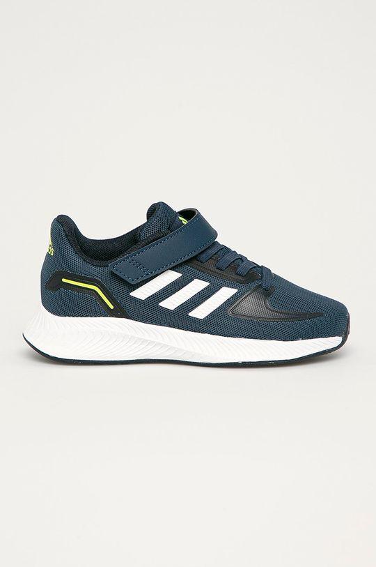 granatowy adidas - Buty dziecięce Runfalcon 2.0 C Chłopięcy