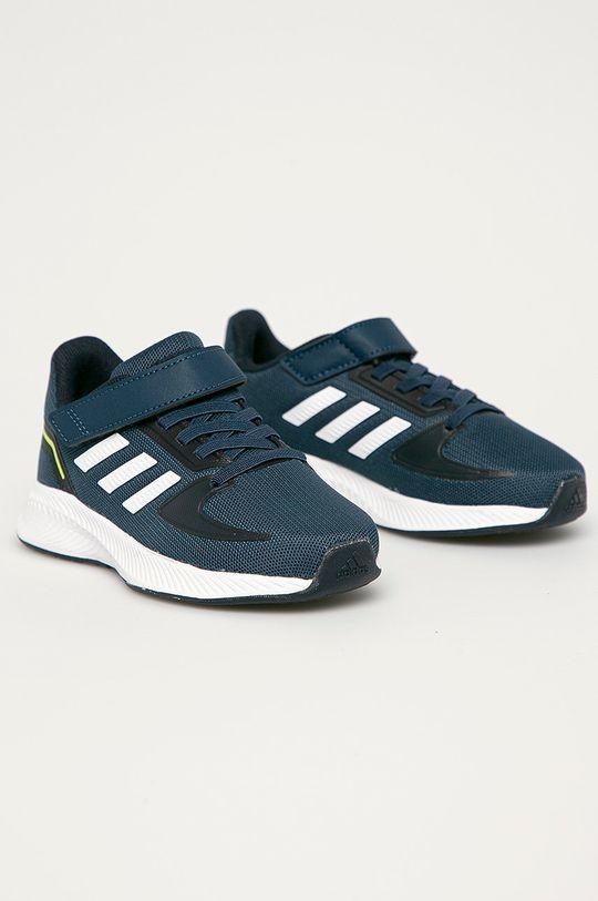 adidas - Buty dziecięce Runfalcon 2.0 C granatowy