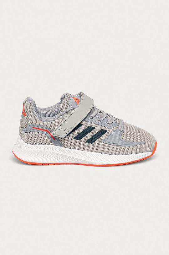 sivá adidas - Detské topánky Chlapčenský