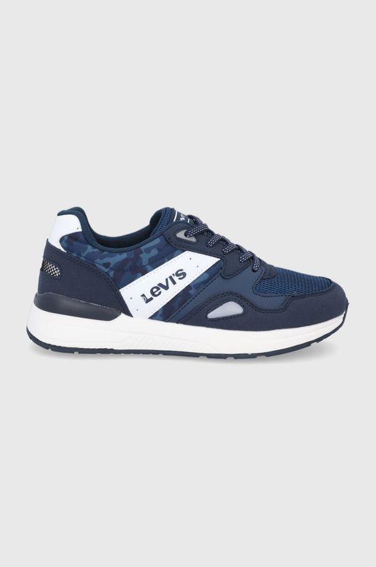 tmavomodrá Levi's - Detské topánky Chlapčenský