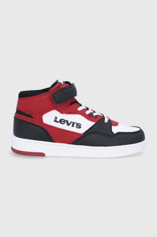 ostry czerwony Levi's - Buty dziecięce Chłopięcy