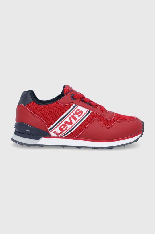 ostrá červená Levi's - Dětské boty Chlapecký