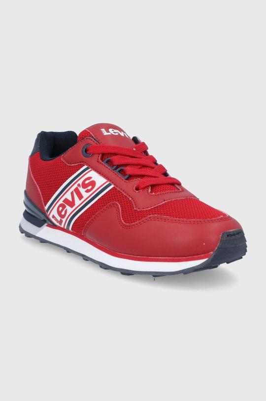 Levi's - Dětské boty ostrá červená