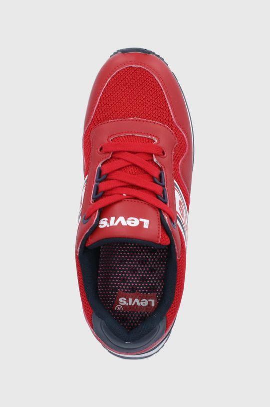 ostrá červená Levi's - Dětské boty