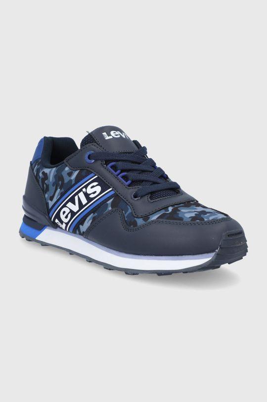 Levi's - Detské topánky tmavomodrá