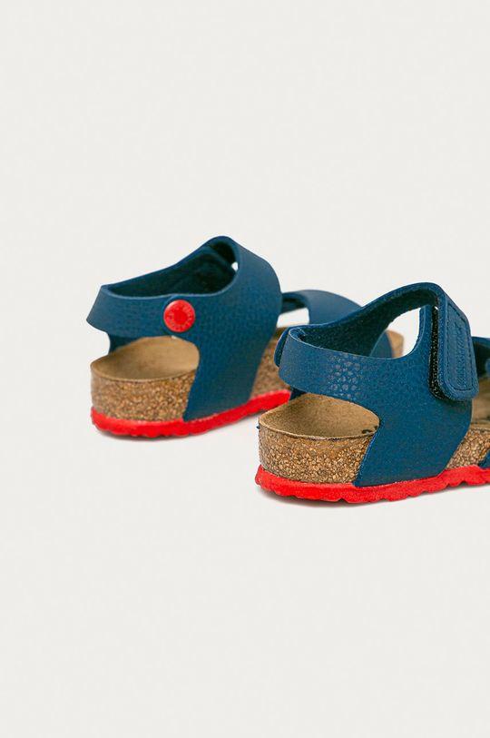 Birkenstock - Dětské sandály Palu Kids Logo  Svršek: Umělá hmota Vnitřek: Textilní materiál, Přírodní kůže Podrážka: Umělá hmota
