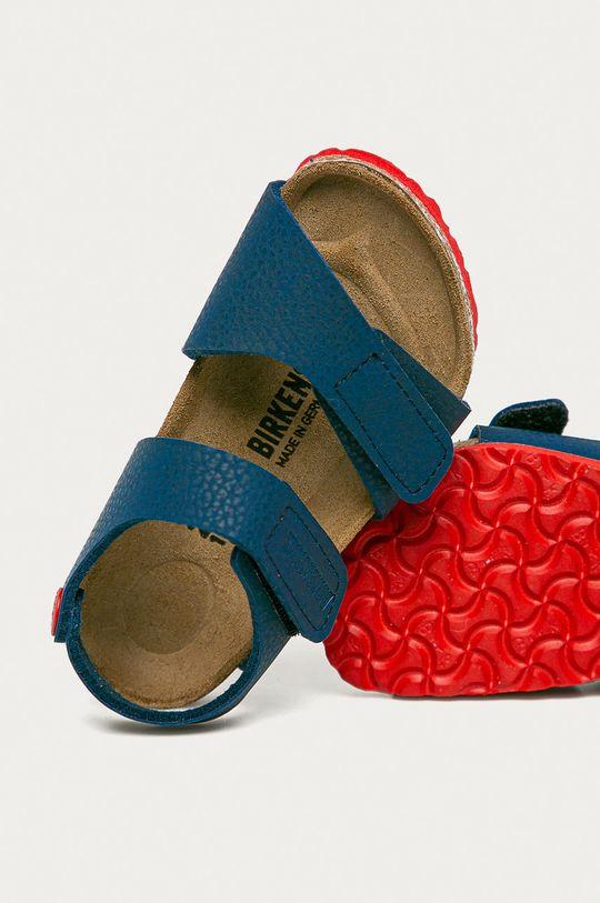 námořnická modř Birkenstock - Dětské sandály Palu Kids Logo