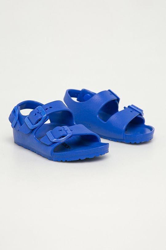 Birkenstock - Sandały dziecięce Milano niebieski