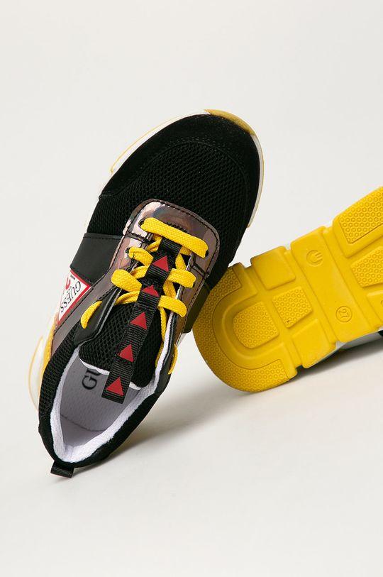 czarny Guess - Buty dziecięce