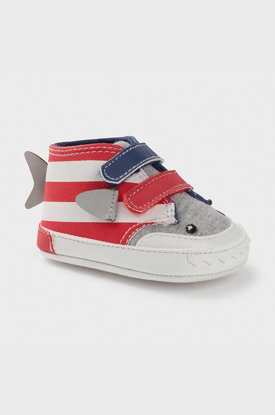 rosu Mayoral Newborn - Pantofi copii De băieți