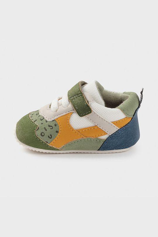 Mayoral Newborn - Detské topánky hnedozelená