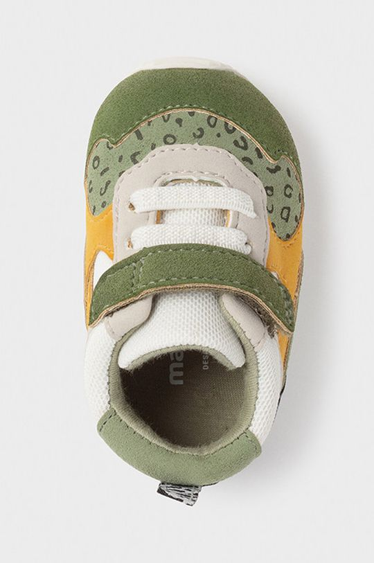 Mayoral Newborn - Detské topánky  Zvršok: 30% Polyester, 70% Polyuretán Vnútro: 100% Bavlna Podrážka: 100% Guma