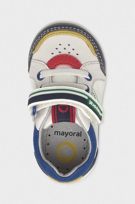 Mayoral - Detské topánky  Zvršok: 44% Bavlna, 56% Hovädzia koža Podrážka: 100% Termoplastická guma Vložka: 100% Prírodná koža