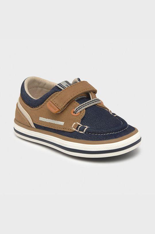 kávová Mayoral - Dětské boty Chlapecký