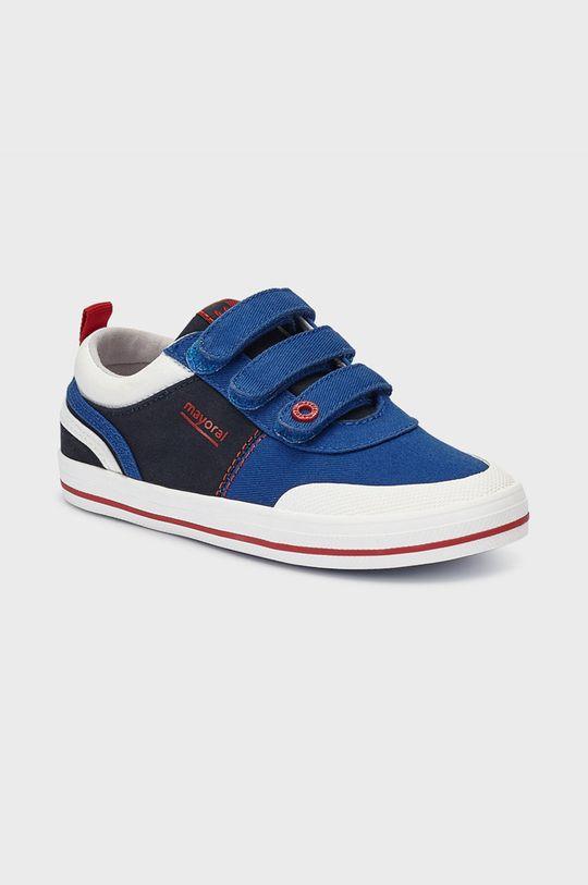 tmavomodrá Mayoral - Detské topánky Chlapčenský