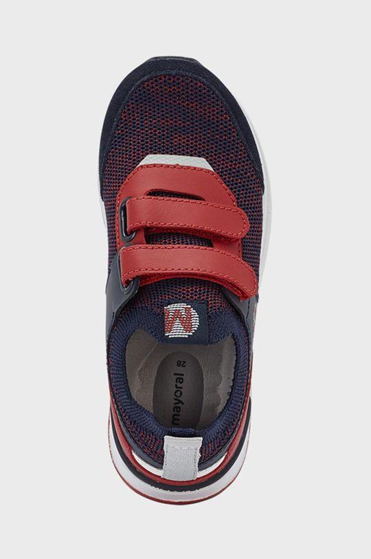 Mayoral - Dětské boty  Svršek: 45% Polyester, 55% Hovězí useň Vnitřek: 30% Bavlna, 70% Polyester Podrážka: 100% Termoplastická guma