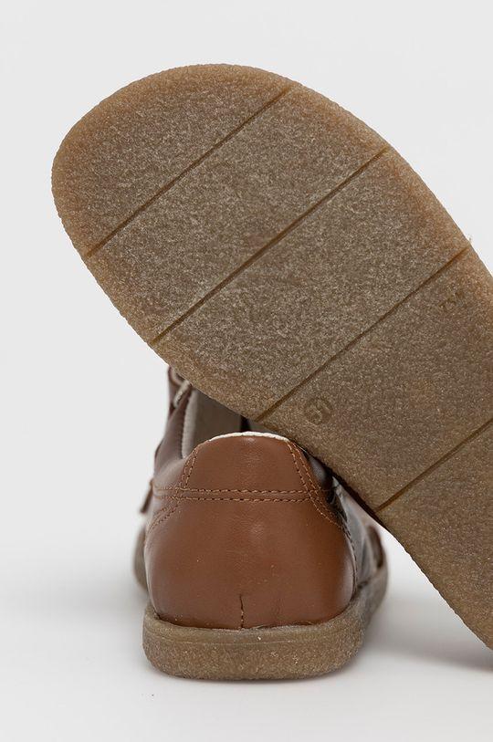 Mrugała - Sandały skórzane dziecięce Materiał syntetyczny, Cholewka: Skóra naturalna, Wnętrze: Skóra naturalna, Podeszwa: Materiał syntetyczny