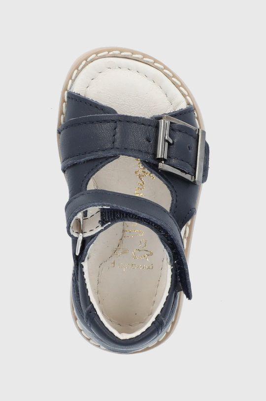 bleumarin Mrugała - Sandale din piele pentru copii