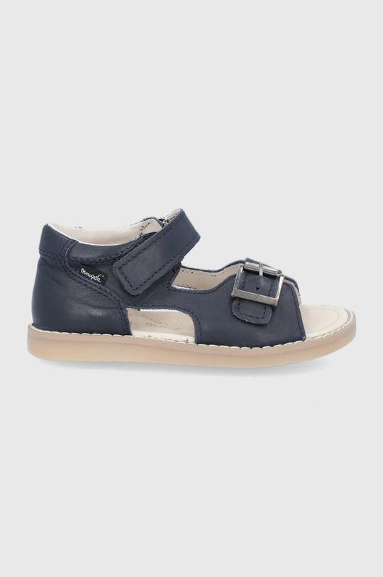 bleumarin Mrugała - Sandale de piele De băieți