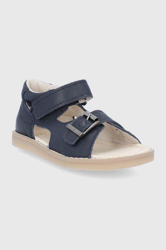 Mrugała - Sandale de piele bleumarin