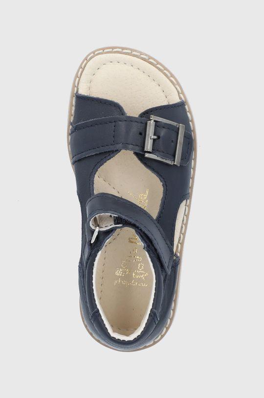 bleumarin Mrugała - Sandale de piele