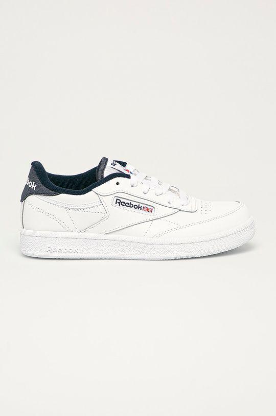 biela Reebok Classic - Detské topánky Club C 85 Chlapčenský