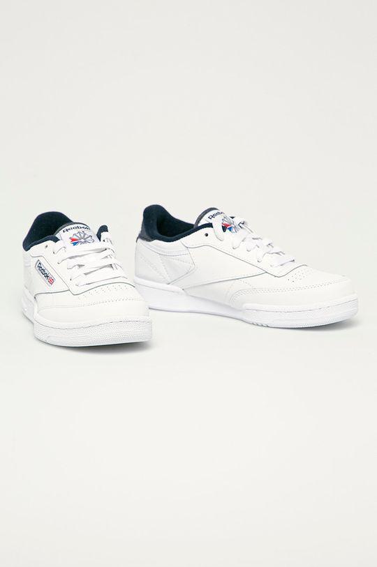 Reebok Classic - Detské topánky Club C 85 biela