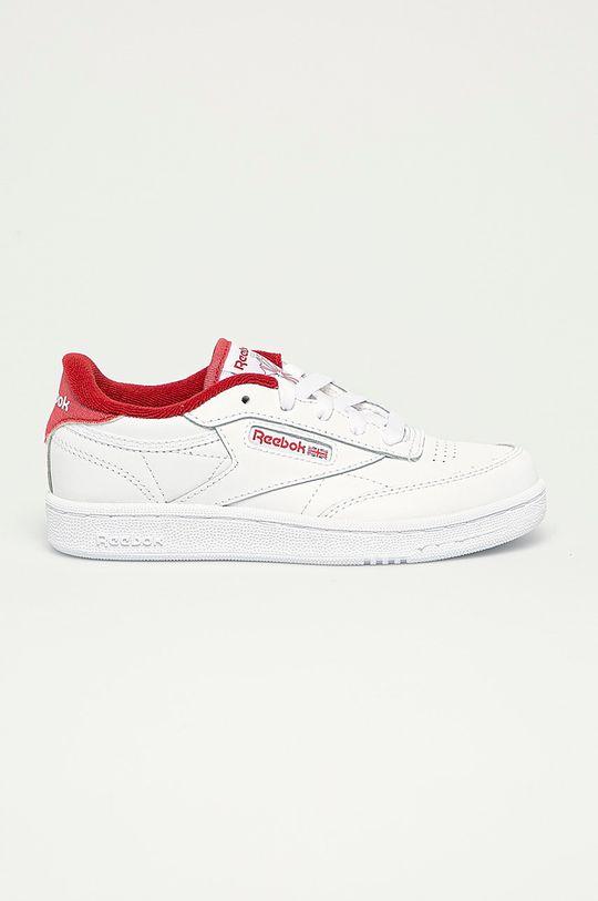 alb Reebok Classic - Pantofi copii Club C 85 De băieți