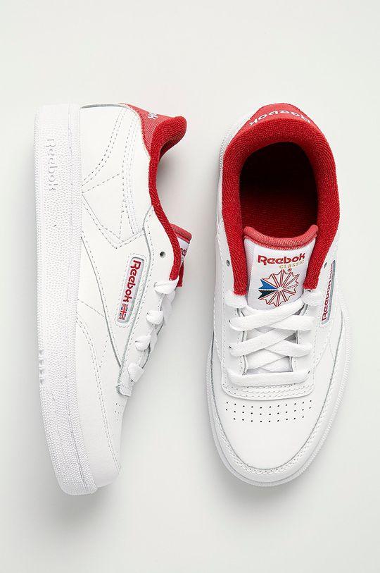 alb Reebok Classic - Pantofi copii Club C 85