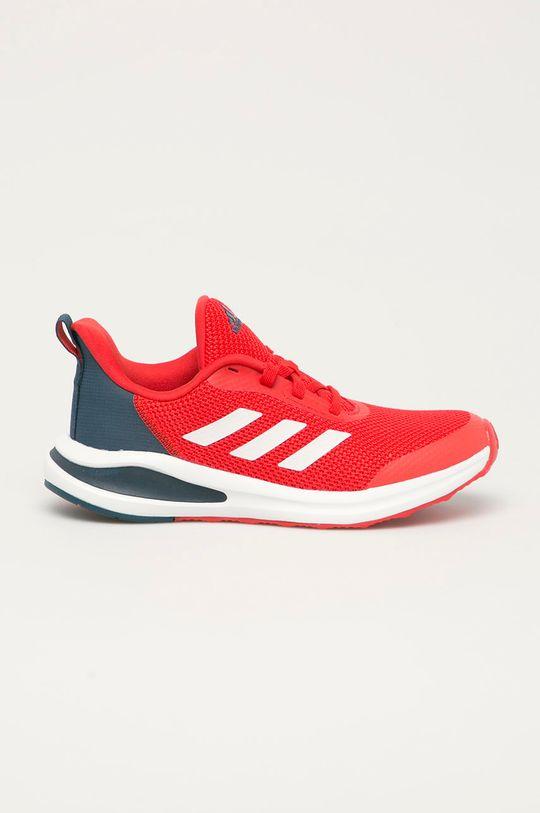 červená adidas Performance - Dětské boty FortaRun Chlapecký